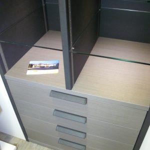 Schmalenbach Design Echtholz mit Leder